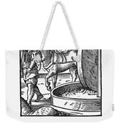Oil Press, 1568 Weekender Tote Bag