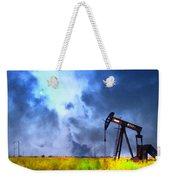Oil Pump Field Weekender Tote Bag