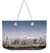 Oil Refinery Weekender Tote Bag