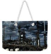 Oil Refinery Sinclair Wyoming Weekender Tote Bag