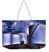 Oil Storage Tanks 2 Weekender Tote Bag