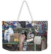 Oj House Detail Weekender Tote Bag