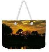 Okavango Sunset Weekender Tote Bag