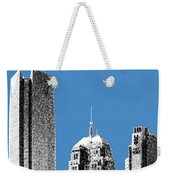 Oklahoma City Skyline - Slate Weekender Tote Bag