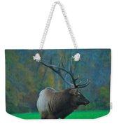 Okonoluftee Elk Weekender Tote Bag