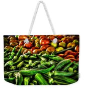 Okra And Tomatoes Weekender Tote Bag