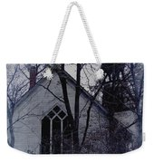 Old Abandoned Church Weekender Tote Bag