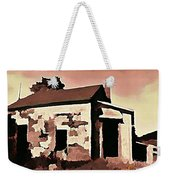 Old Abandoned House In Cape Breton Weekender Tote Bag by John Malone