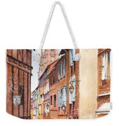 Old Albi The Pink City Of South West France Weekender Tote Bag
