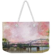Old Amelia Earhart Bridge Weekender Tote Bag
