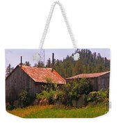 Old And Abandoned In The Country Weekender Tote Bag