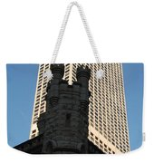 Old And New In The Windy City Weekender Tote Bag
