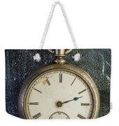 Old Antique Pocket Watch Weekender Tote Bag