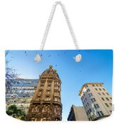 Old Apartment Building Weekender Tote Bag