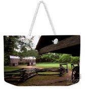 Old Appalachian Barn Yard Weekender Tote Bag