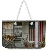 Old Apple Orchard Porch Weekender Tote Bag