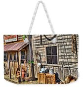 Old Bait Shop And Antiques Weekender Tote Bag
