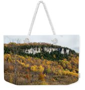 Old Baldy In Fall Weekender Tote Bag