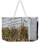 Old Barn And Cornstalks Weekender Tote Bag