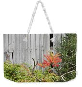 Old Barn In Fall Weekender Tote Bag by Keith Webber Jr