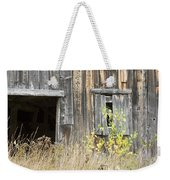 Old Barn In Fall Maine Weekender Tote Bag by Keith Webber Jr