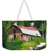 Old Barn Near Chimney Rock Weekender Tote Bag