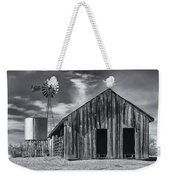 Old Barn No Wind Weekender Tote Bag