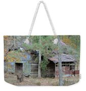 Old Barn With Side Shed Weekender Tote Bag