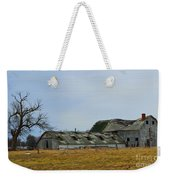 Old Barns In The Heartland Weekender Tote Bag by Alys Caviness-Gober