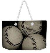 Old Baseballs Weekender Tote Bag