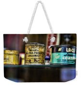 Old Bean Weekender Tote Bag