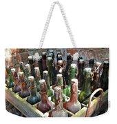 Old Beer Bottles Weekender Tote Bag