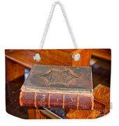 Old Bible Weekender Tote Bag