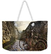 Old Bicycles On A Sunday Morning Weekender Tote Bag