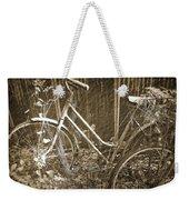 Old Bikes Weekender Tote Bag