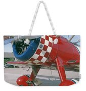 Old Biplane V Weekender Tote Bag
