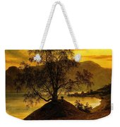 Old Birch Tree At The Sognefjord Weekender Tote Bag
