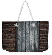 Old Blacksmith Shop Door Weekender Tote Bag