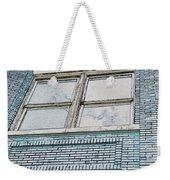 Old Blue Building I Weekender Tote Bag