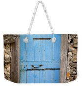 Old Blue Door Weekender Tote Bag