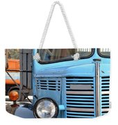 Old Blue Jalopy Truck Weekender Tote Bag