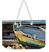 Old Boat - Lebanese Artist Zaher El- Bizri Weekender Tote Bag