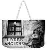 Old Books Weekender Tote Bag by Dave Bowman