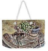 Old Boot Flowerpot Weekender Tote Bag
