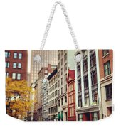 Old Boston Weekender Tote Bag
