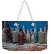 Old Bottles Weekender Tote Bag