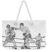 Old Boxing Old Time Weekender Tote Bag