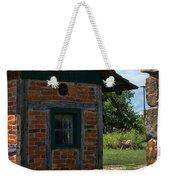 Old Brick Shed Weekender Tote Bag