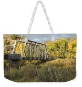 Old Bridge At La Boca Weekender Tote Bag