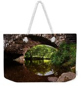 Old Bridge Weekender Tote Bag